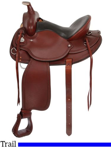 "15.5"" to 17.5"" King Series Wolverine Wide Tree Saddle 78"