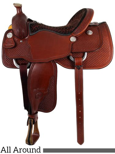 "15.5"" 16"" Billy Cook All Around Saddle 6500"