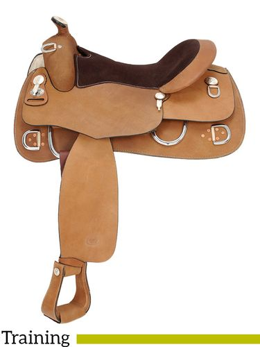 "15"" to 16"" Royal King Roughout Training Saddle 1955 1965"