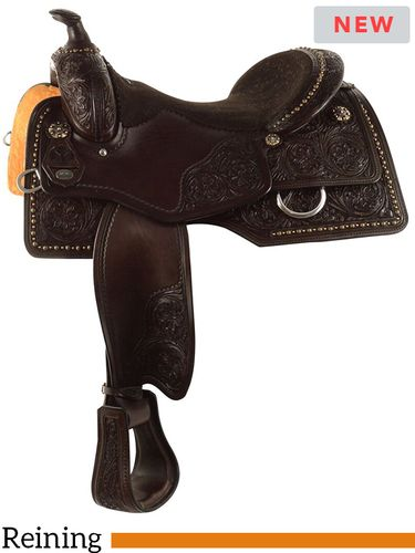 "15.5"" to 17.5"" Circle Y Ohio Reiner Reining Saddle 2672 w/Free Pad"