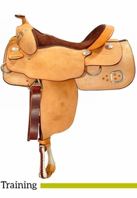 "** SALE **15.5"" to 17"" Billy Cook Training Saddle 9030"