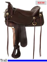Tucker Cheyenne Frontier Trail Saddle T67 w/Free Pad