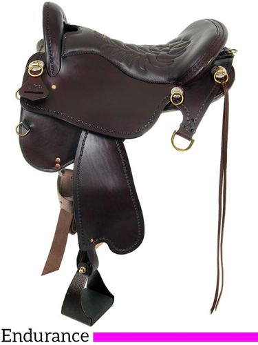 Tucker Endurance Trail Saddle T59 w/Free Pad