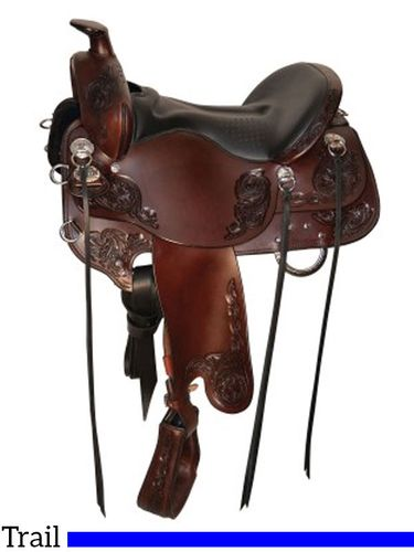 Tucker Horizon Wanderer Trail Saddle 295 w/Free Pad
