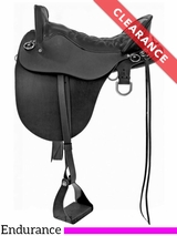 "15.5"" Tucker River Plantation Medium Endurance Saddle 146 CLEARANCE"