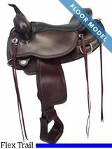 15.5Inch Circle Y Omaha Flex2 Trail Saddle FLOOR MODEL 1554