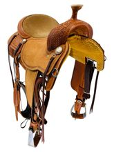 15.5Inch Martin Saddlery Custom Mounted Shooter Saddle 45 *Free Shipping*