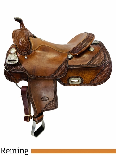 SOLD 2019/11/20  15.5Inch Used Billy Cook Classic Reiner Saddle 9602 *Free Shipping*