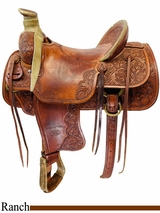 PRICE REDUCED! 15.5inch Used Billy Cook Original Ranch Saddle 2187 *Free Shipping*
