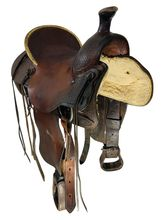 SOLD 2021/10/19  15.5Inch Used Billy Cook Ranch Saddle 2085 *Free Shipping*