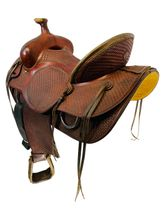 15.5Inch Used Billy Cook Ranch Saddle 2575 *Free Shipping*
