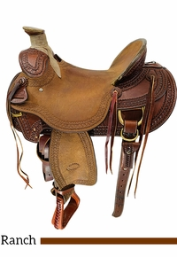 SOLD 2021  15.5Inch Used Billy Cook Wade Ranch Mule Saddle 2285 *Free Shipping*