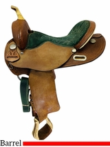 15.5Inch Used Circle Y Lightweight Barrel Racer 2161 *Free Shipping*