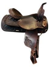 SOLD 2020/11/27  15.5Inch Used Circle Y Park and Trail Saddle 3624 *Free Shipping*