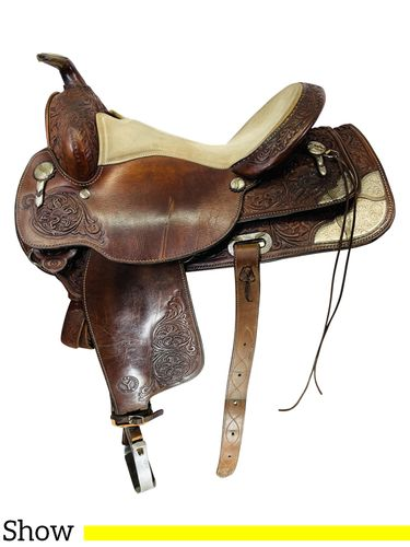 15.5Inch Used Circle Y Show Saddle 2790 *Free Shipping*