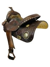 15.5Inch Used Circle Y Trail Saddle 2005 *Free Shipping*