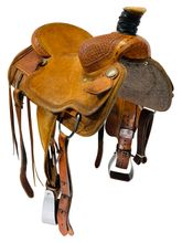 SOLD 2019/11/14  15.5Inch Used Circle Y XP Tucson Ranch Saddle 1113 *Free Shipping*
