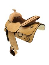 15.5Inch Used Custom Training Saddle  *Free Shipping*
