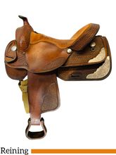 15.5Inch Used Dakota Reining Saddle 820 *Free Shipping*