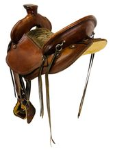 15.5Inch Used Don West Gaited Trail Saddke Custom *Free Shipping*