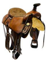 PRICE REDUCED!! 15.5Inch Used Kent Logan Trail Saddle Custom *Free Shipping*