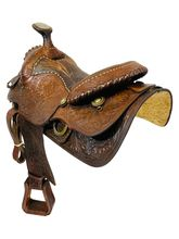 15.5Inch Used Long Horn Trail Saddle  2800 *Free Shipping*
