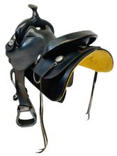 PRICE REDUCED! 15.5Inch Used National Bridle Shop Tennessean Gaited Saddle 2623 *Free Shipping*