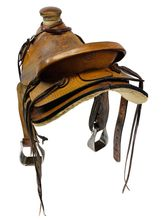15.5Inch Used Troy Welsh Maker Wade Ranch Saddle 6405 *Free Shipping*