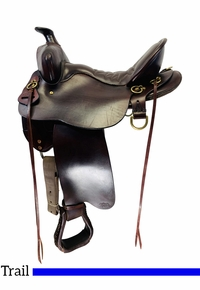 SOLD 2020/06/10  15.5Inch Used Tucker HIgh Plains Trail Saddle 260 *Free Shipping*