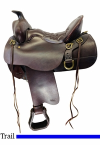 15.5Inch Used Tucker High Plains Wide Trail Saddle 260 *Free Shipping*