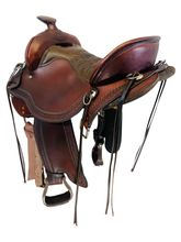 SOLD 2021/04/21  15.5Inch Used Tucker Trail Saddle 167 *Free Shipping*