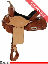 "15"" Big Horn AJ Fast Barrel Saddle 1582"