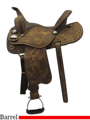 "15"" Big Horn Wide Barrel Saddle 1585"