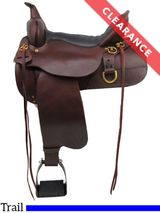 "16"" High Horse by Circle Y Big Springs Trail Saddle 6862, CLEARANCE"