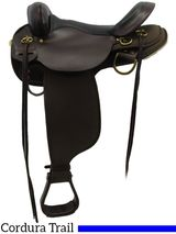 """16"""" High Horse by Circle Y Highbank Cordura Trail Saddle 6916, CLEARANCE"""