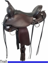 15 Inch Circle Y Salt River Flex2 Trail Saddle FLOOR MODEL 1667 uscy4488