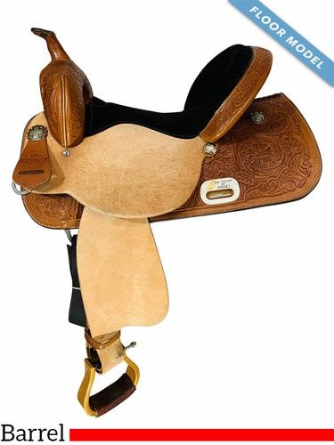 15 Inch FLOOR MODEL High Horse The Proven Mansfield Barrel Saddle  6221