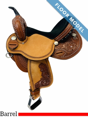 PRICE REDUCED! 15 Inch South Bend Saddle Co Revolutionary Barrel FLOOR MODEL 3726