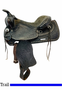 PRICE REDUCED! 15 Inch Used American Saddlery The High Point Pleasure Saddle 1537 *Free Shipping*