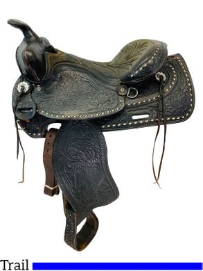 15 Inch Used American Saddlery The High Point Pleasure Saddle 1537 *Free Shipping*