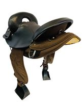 15 Inch Used Big Horn Center Fire Endurance Saddle 121 *Free Shipping*