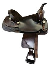 SOLD 2020/05/21  15 Inch Used Big Horn Lightweight Trail Saddle 917 *Free Shipping*