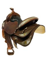 15 Inch Used Big Horn Show Saddle 1960 *Free Shipping*