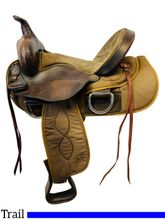 SOLD 2021/04/12  15 Inch Used Big Horn Trail Saddle 325 *Free Shipping*