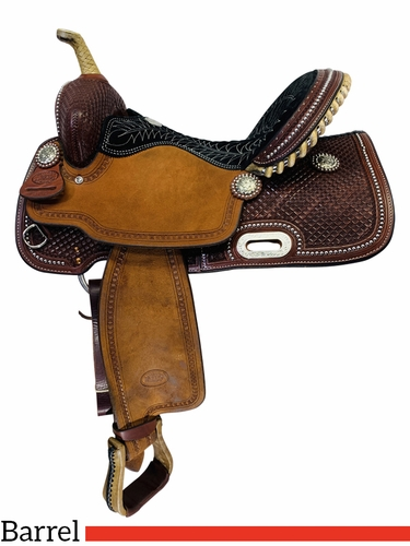 SOLD 2019/12/06  15 Inch Used Billy Cook Barrel Racing Saddle 1530 *Free Shipping*
