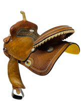 PRICE REDUCED! 15 Inch Used Billy Cook Barrel Racing Saddle 1530 *Free Shipping*