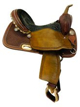15 Inch Used Billy Cook Barrel Racing Saddle 1530 *Free Shipping*