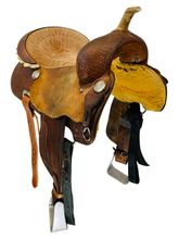 15 Inch Used Billy Cook Barrel Saddle  2032 *Free Shipping*