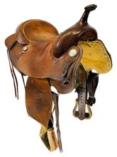 15 Inch Used Billy Cook Reining Saddle 1700 *Free Shipping*
