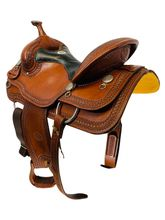 15 Inch Used Billy Cook Trail Saddle 1777 *Free Shipping*